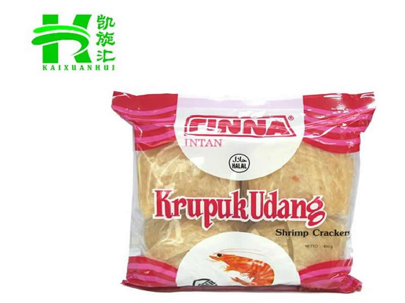 辽宁进口虾片-广东哪里供应的印尼菲那牌虾味木薯片经济实惠