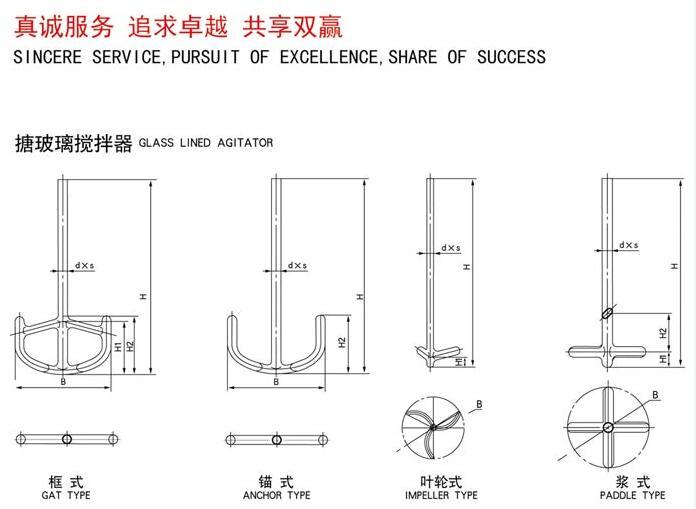 优质搪玻璃搅拌器_淄博中升机械质量良好的搪玻璃搅拌器出售
