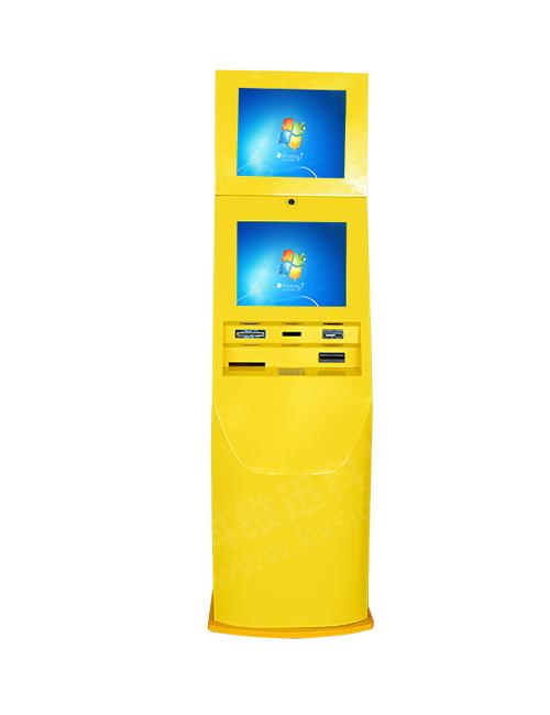 科维迅供应专业的双屏自助充值终端|会员卡充值终端机价格