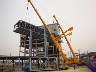 平凉吊车租赁-信誉好的吊车租赁-利森大型设备吊装公司提供