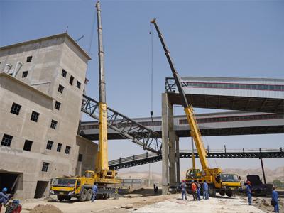 兰州大件运输企业_大件运输厂家就是利森大型设备吊装企业