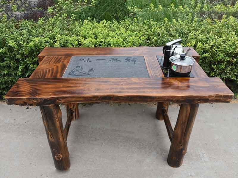 滨州专业的山东仿古家具生产厂家-涮烤一体桌批发