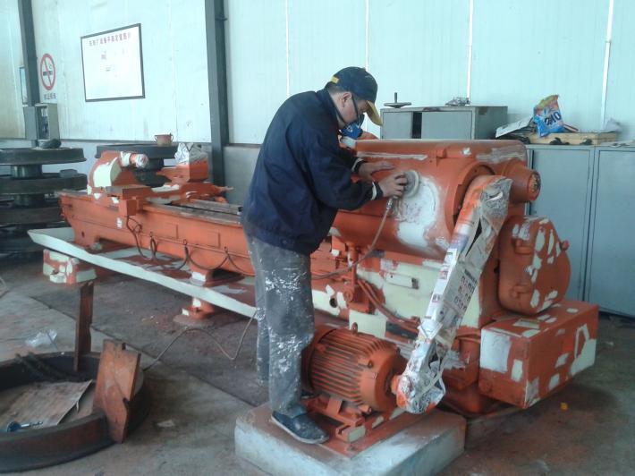 口碑好的舊機械噴漆翻新服務公司當選廣西歐彩噴漆公司——鋼結構翻新噴漆