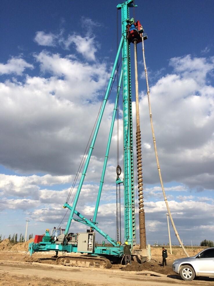 28米履带式长螺旋桩机厂家-供应河北质量优良的履带式长螺旋钻机