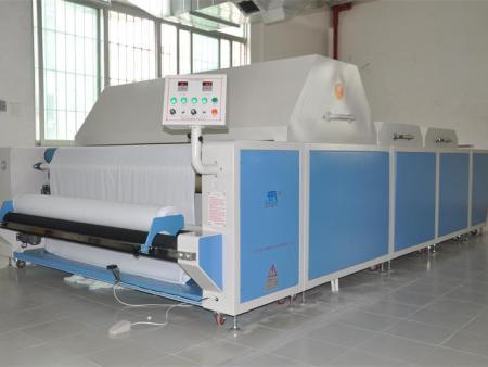 验布缩水机|广东优良的中型预缩定型机哪里有供应