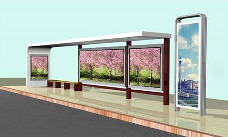 品质现代城市候车亭当选维恒交通设施|北京候车亭