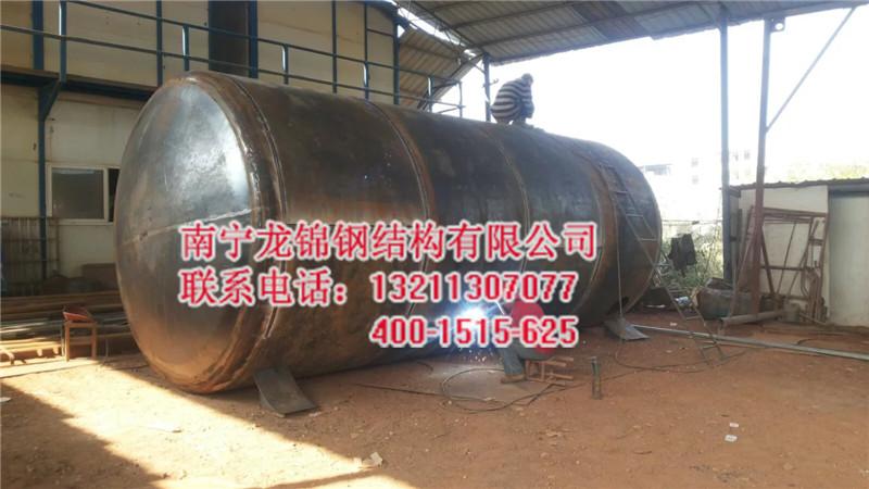 不锈钢储存罐安装_优良广西不锈钢罐找南宁龙锦钢结构