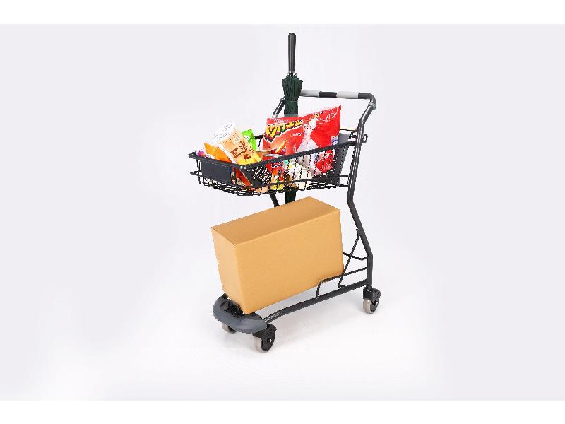 廈門超市購物車-宏輝金屬制品提供質量硬的平板手推車