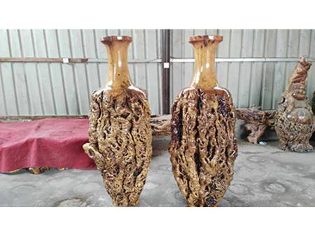四川棗木花瓶價格_搶手的棗木花瓶當選宏達根藝雕刻中心