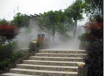 河源造雾系统设备,人造雾系统,自然景观造雾机
