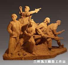 兰州雕塑哪家好-别致的雕塑当选凯文雕塑工作室