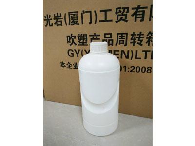 光巖工貿供應同行中口碑好的塑料瓶,白色方形瓶廠家