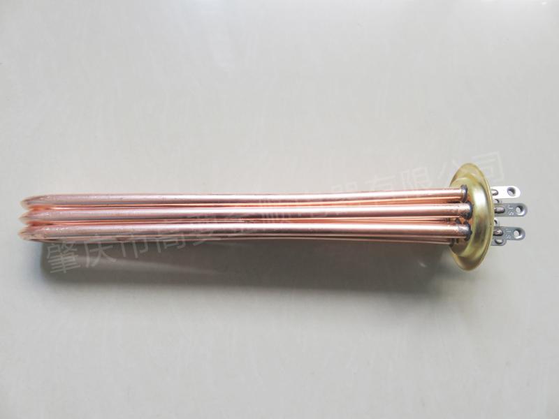 加热管定制-供应金顺电器划算的63法兰开水器电加热管