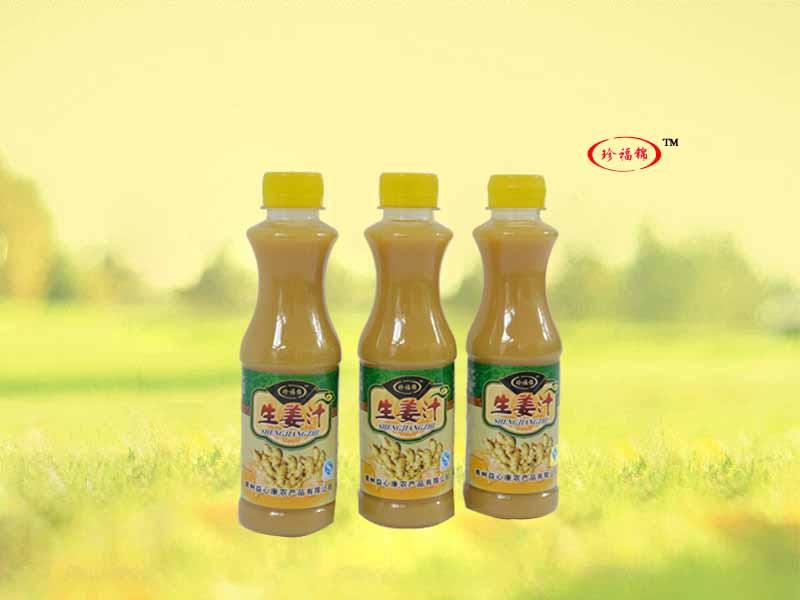 益心康农产品的原料姜汁,生姜汁!味道好极了