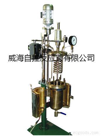 威海自控供应优质中试加氢反应釜,高压聚合釜,不锈钢反应釜
