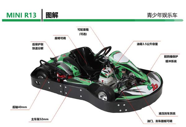 TBkart R13进口青少年娱乐车厂价供货|静安卡丁车