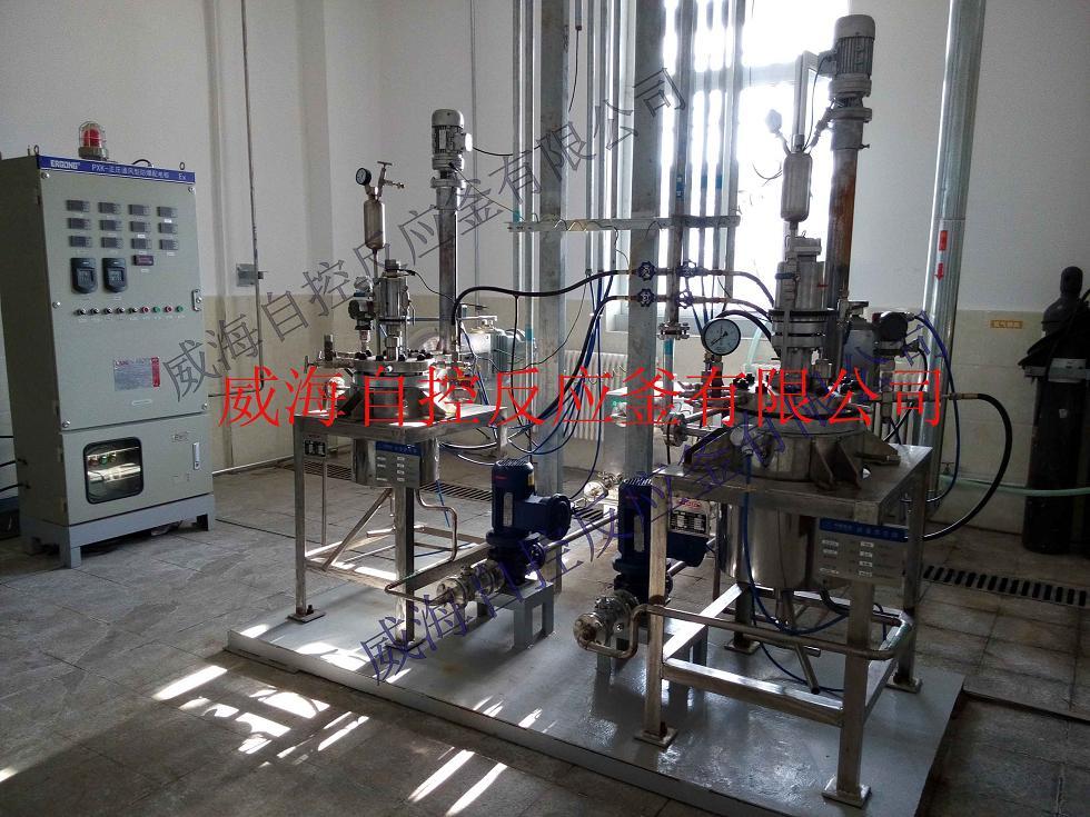 買聚合反應釜_來威海自控反應釜 河南乳液聚合反應釜