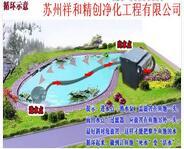 苏州市耐用的鱼池水处理设备苏州祥和精创净化工程供应_吴中景