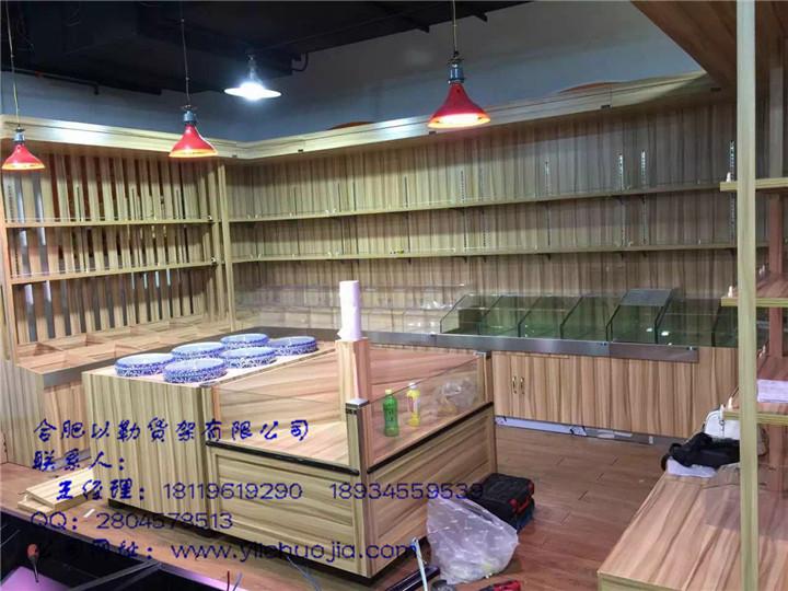 合肥貨架優質廠商_生鮮不銹鋼柜設計