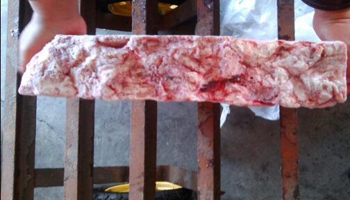 供应威海热卖混冻成板猪脑,优质猪脑厂家