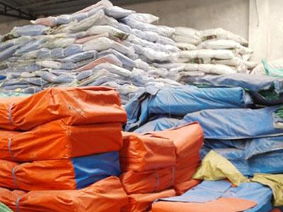 西宁彩条布-有信誉度的彩条布供应商当属甘肃荣泰帆布制品