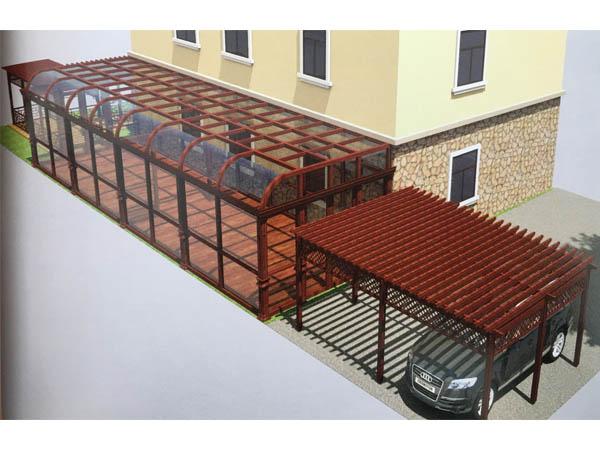 铝合金阳光房定制_恩友工业铝材不错的阳光房铝型材供应