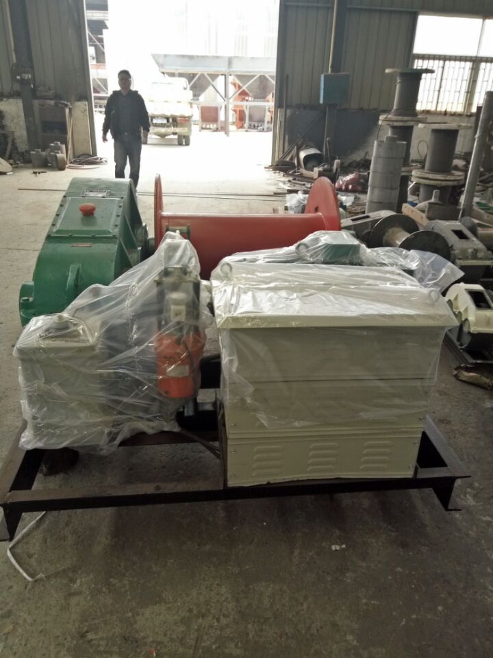 安徽一字卷扬机_鑫海建筑机械新款的一字卷扬机出售