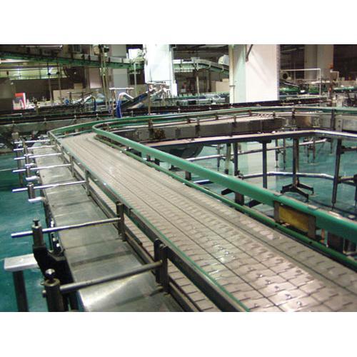 链板传送带|广州裕博自动化设备塑料链板输送机推荐
