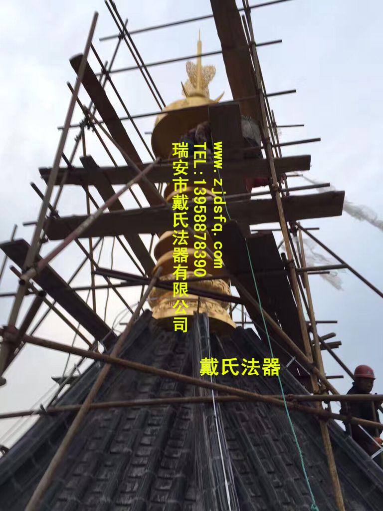 浙江口碑好的铜塔刹供应-定做塔刹厂家