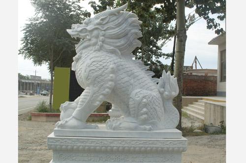 石麒麟-四川哪里有供應口碑好的石雕麒麟