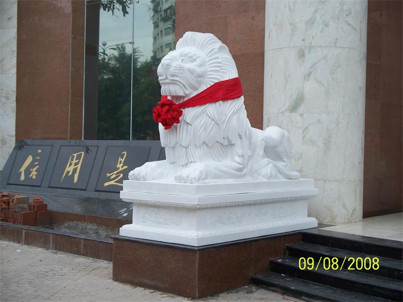 石狮子批发_想找高水平的石狮子雕刻当选红泰石业