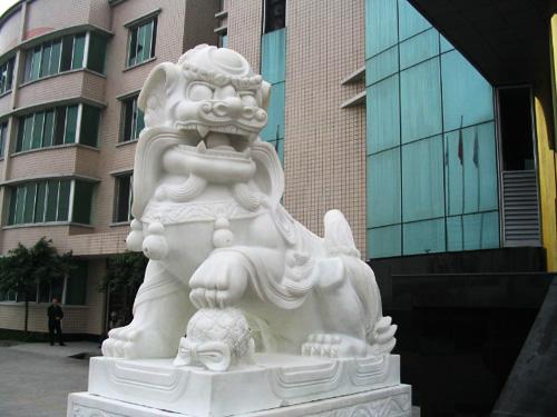 石狮子雕刻批发-红泰石业专业提供石狮子雕刻