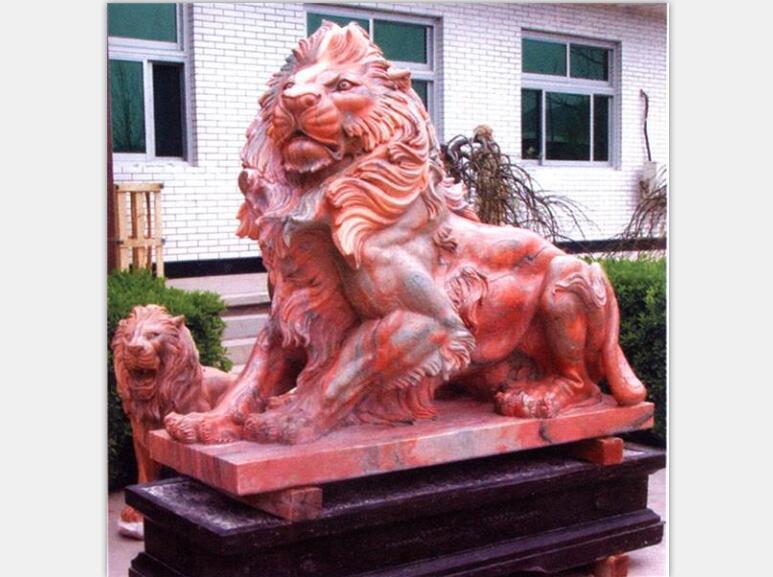 石狮子厂家-红泰石业-石狮子雕刻加工厂