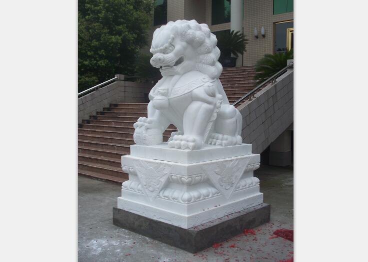 喜狮厂家_四川精湛的石狮子雕刻供应