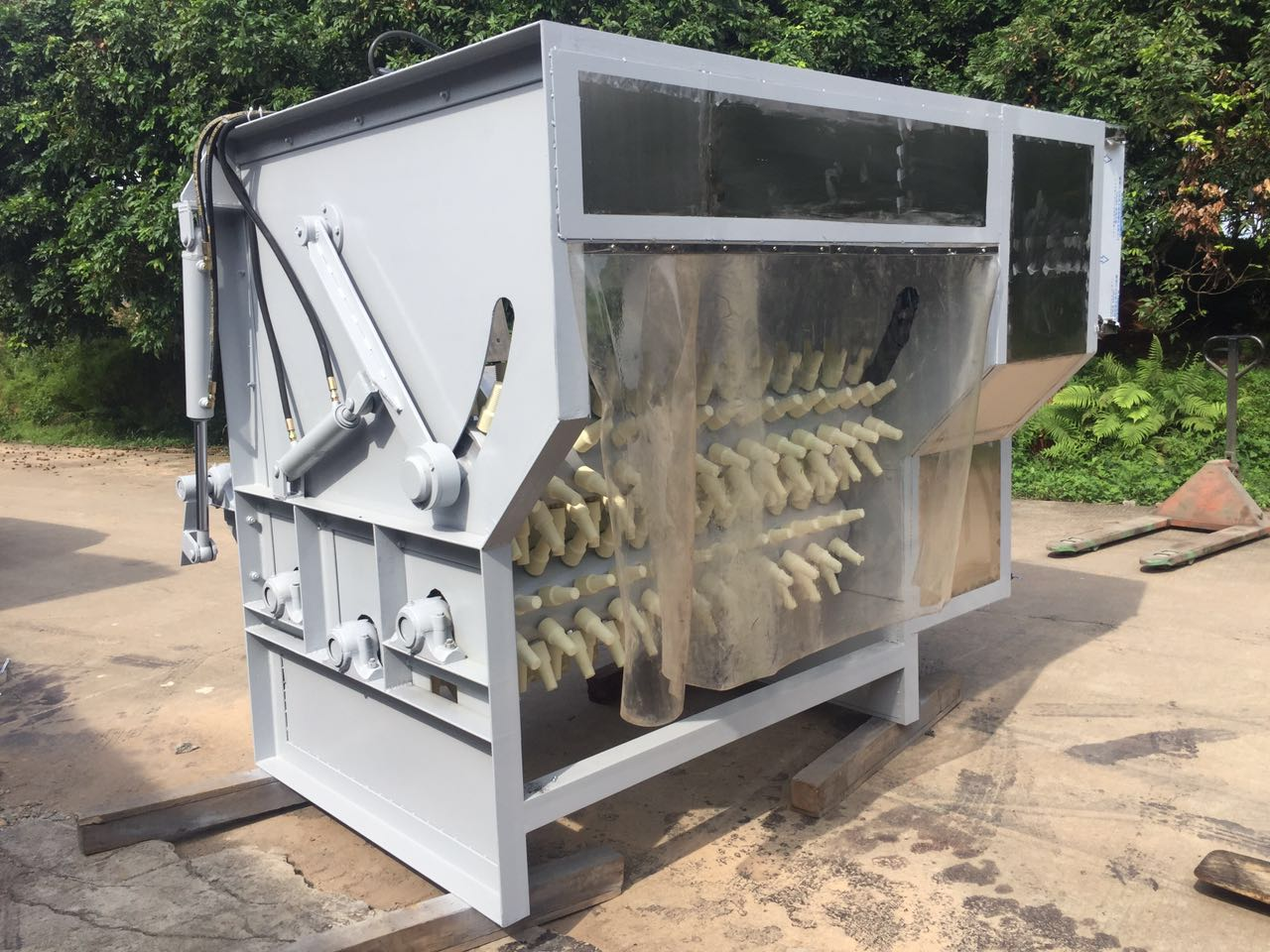 流水線烘干機廠家-福建自動液壓羊脫毛機供應