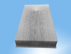 铝型材散热器厂_优惠的 插片散热器 铭盛电子供应