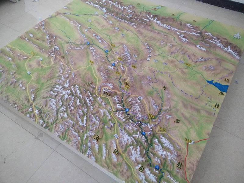 吴忠军事沙盘模型设计哪家好-兰州品牌好的军事地形沙盘