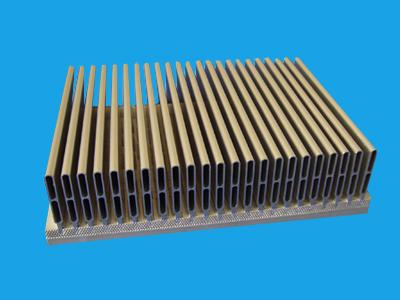 插片散热器性能|镇江高品质压铸电子散热器批售