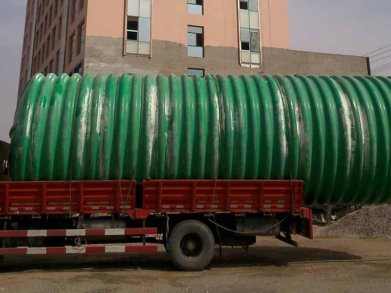 庆阳玻璃钢化粪池工程 上等玻璃钢化粪池鼎兴环保供应