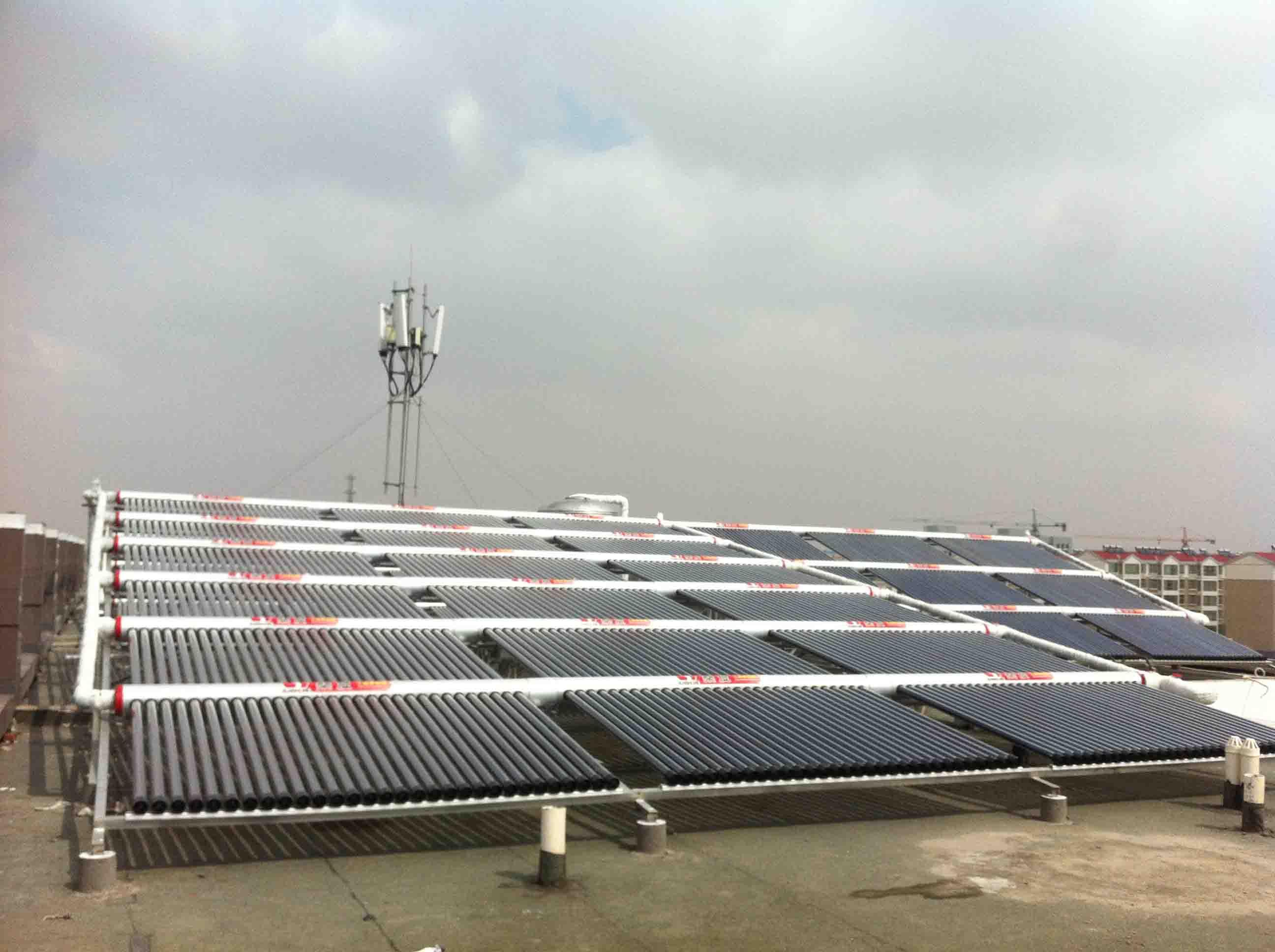 兰州太阳能热水工程|甘肃实力可靠的太阳能热水工程公司