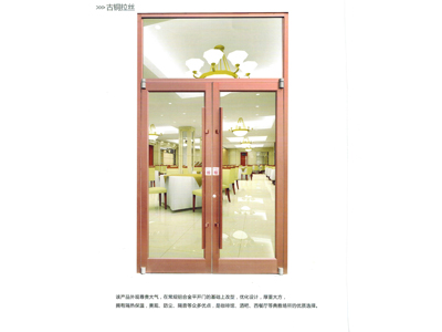 天水肯德基门厂家-甘肃优惠的铜门批销