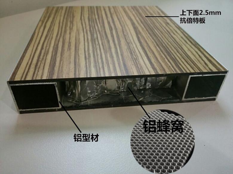 厂家各种材质蜂窝板北京东南九牧铝业更专业_丝网印刷蜂窝板