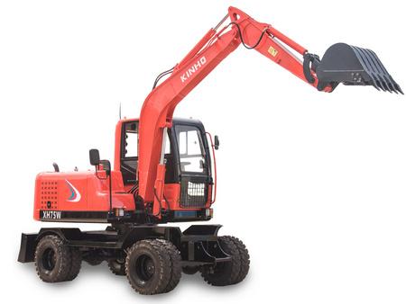 泉州高性价轮胎式挖掘机_厂家直销 辽宁轮胎式挖掘机