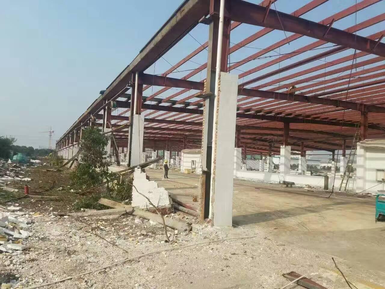 旧钢结构厂房建造找海涛金属材料 旧钢结构材料出售