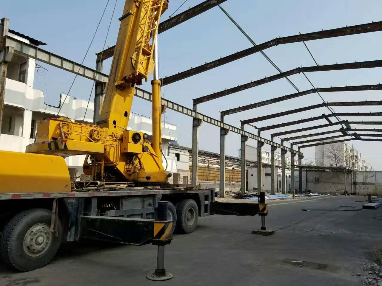 旧钢结构厂房回收_二手钢结构厂房工程项目