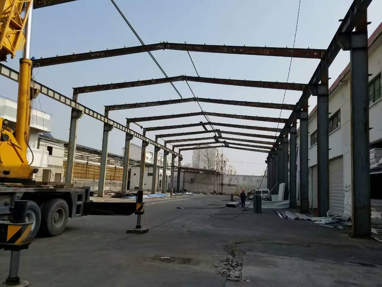 旧钢结构厂房价格-二手钢结构厂房建造找海涛金属材料
