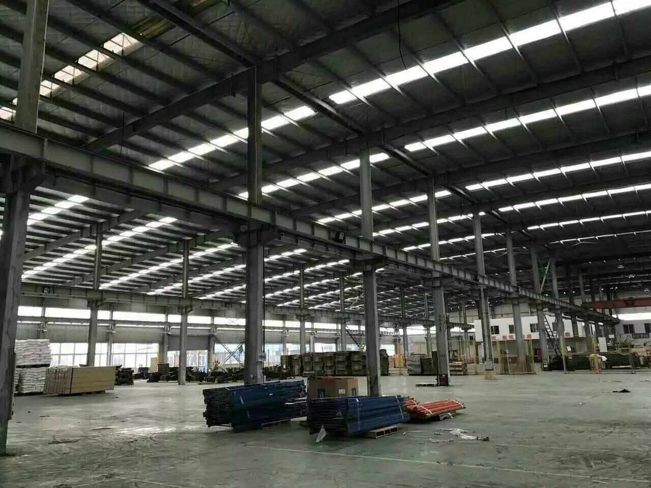 宁波钢结构厂房-圆弧造型钢结构厂房材料建造找海涛金属材料