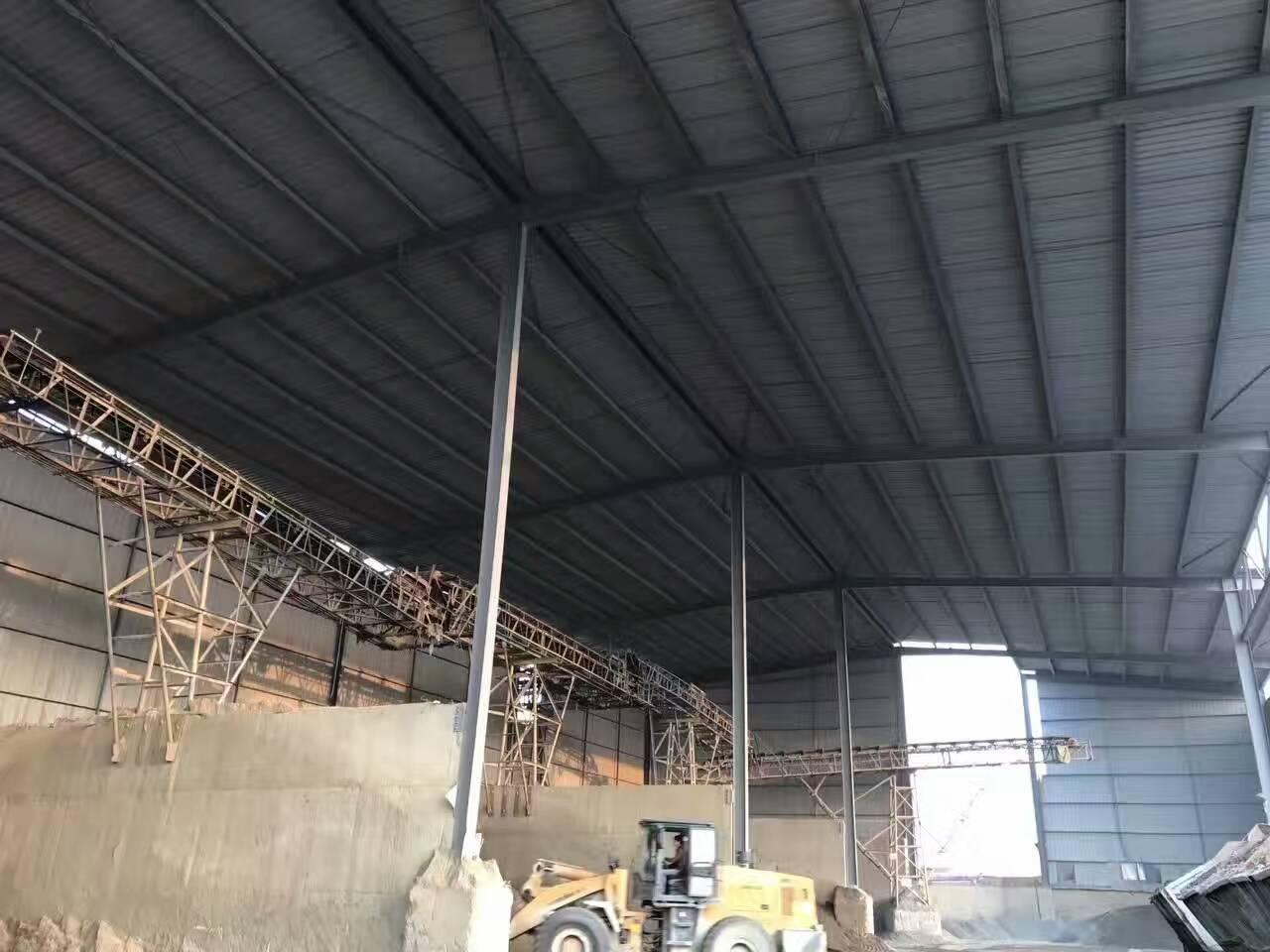 现货钢结构厂房材料-想要商混站专用厂房就到海涛金属材料