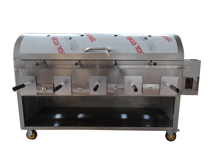 山东知名的烧烤炉供应商是哪家 全自动翻转烤羊腿炉
