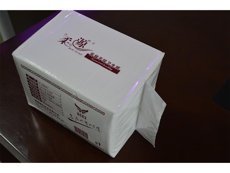 方块纸代理商,高档方块卫生纸巾 6刀批发供应